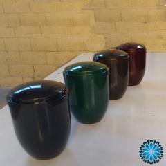 Urnas de Cinzas Plástica cores sortidas