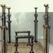 Conjunto metal Lacado