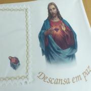 Lençol Minimate Estampado Sag. Coração Jesus