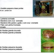 Sacrário e Caixa Hóstias(Relicários)
