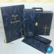 Conjuntos Pasta-Livro Condolência-Bolsa Documentos-Livro Porta Cartões