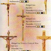 Cruzes com cristo e se cristo ( Crucifixos)