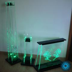 Conjunto tocheiros Acrílico LED