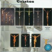 Cristos Metal e Plástico Para Urnas